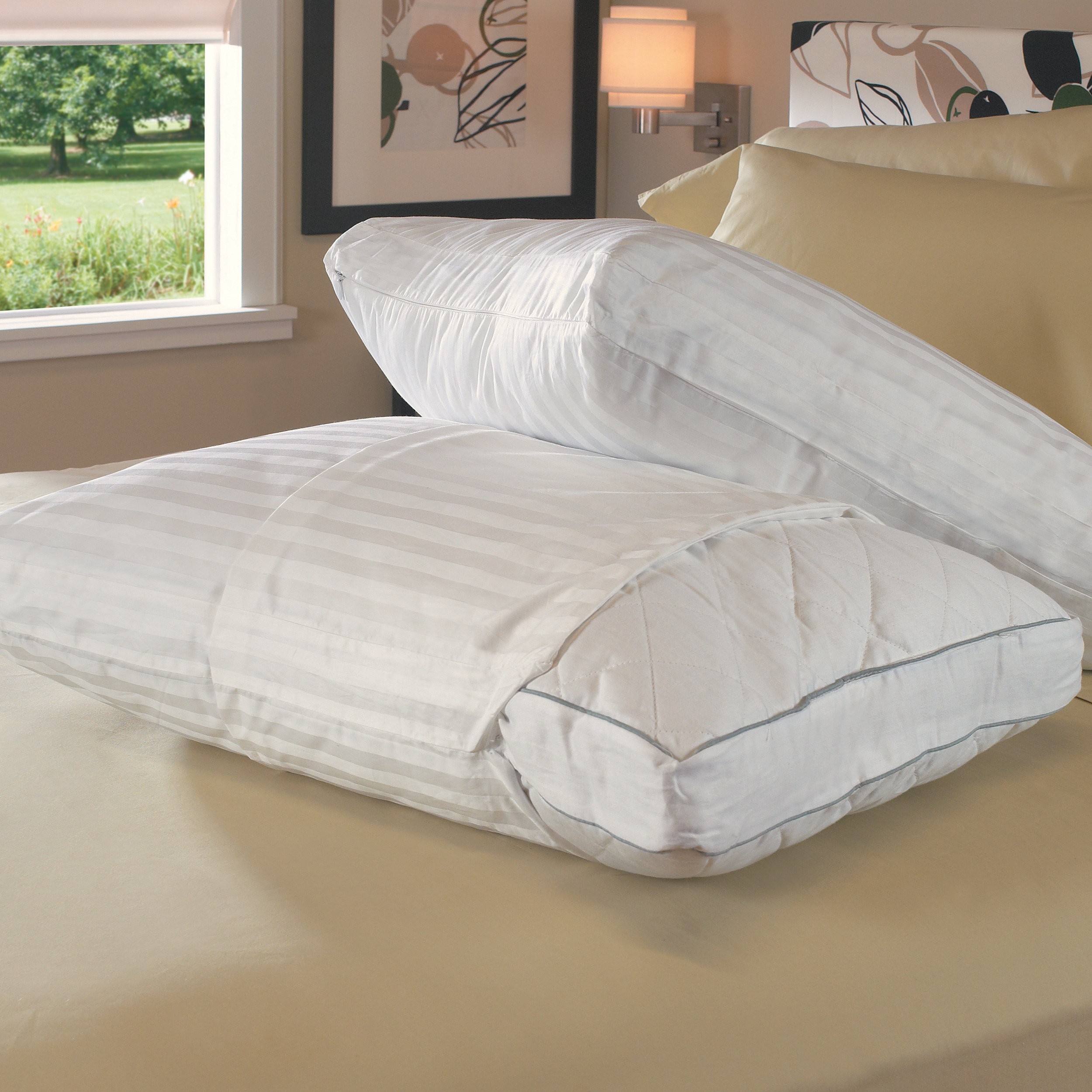 Silver Plus 400 Thread Count Cotton Gusseted Standard