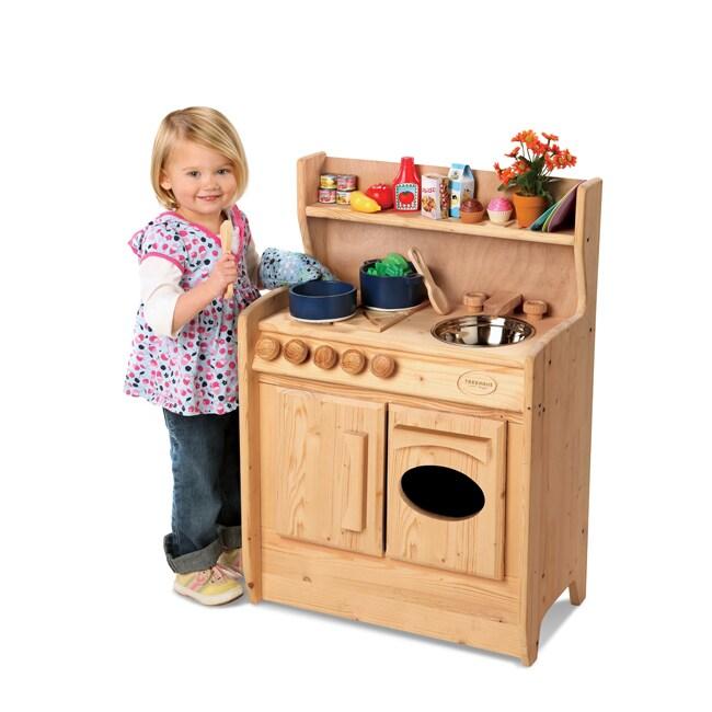 TreeHaus Wooden Play Kitchen