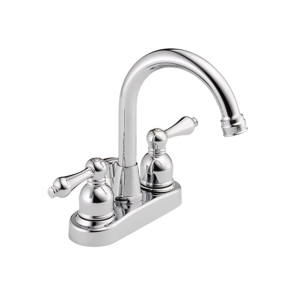 Delta Faucets Peerless 2 Handle Centerset Chrome Lavatory