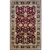 Herat Oriental Indo Hand-tufted Mahal Wool Rug (5' x 8') - 5' x 8'