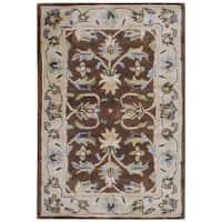 Herat Oriental Indo Hand-tufted Mahal Wool Rug - 2' x 3'