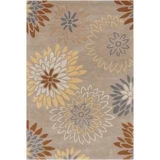 Hand Tufted Alameda Traditional Floral Wool Area Rug 9 X