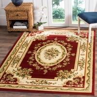 Safavieh Lyndhurst Traditional Oriental Red/ Ivory Rug - 8'11' x 12'