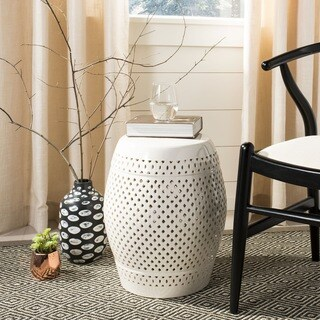 Incredible Sale Safavieh Paradise Courtyard Cream Ceramic Garden Alphanode Cool Chair Designs And Ideas Alphanodeonline