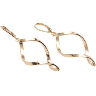 Alexa Starr Twisted Infinity-shaped Earrings