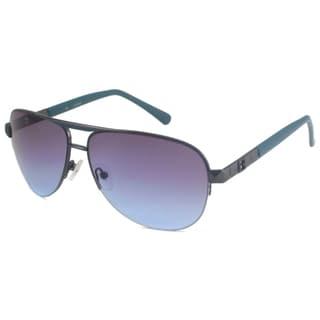 a4d8819c4f Guess Men  39 s Aviator Style Sunglasses