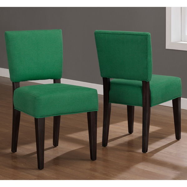 Emerald Green Savannah Dining Chairs Set Of 2