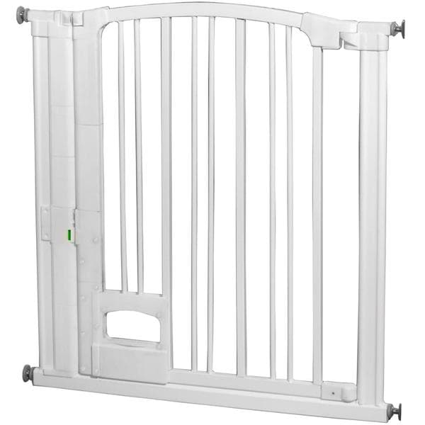 Pressure Mounted Hands Free Safety Gate With Magnetic