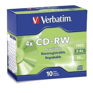 Verbatim Cd R 700mb 52x With Color Branded Surface 25pk