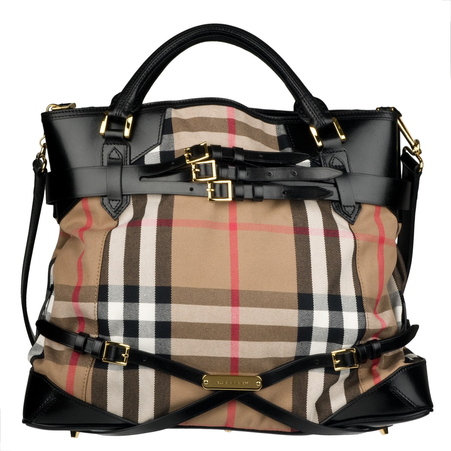 7ca975ca2fd8 Burberry Large Bridle House Check Tote Bag on PopScreen