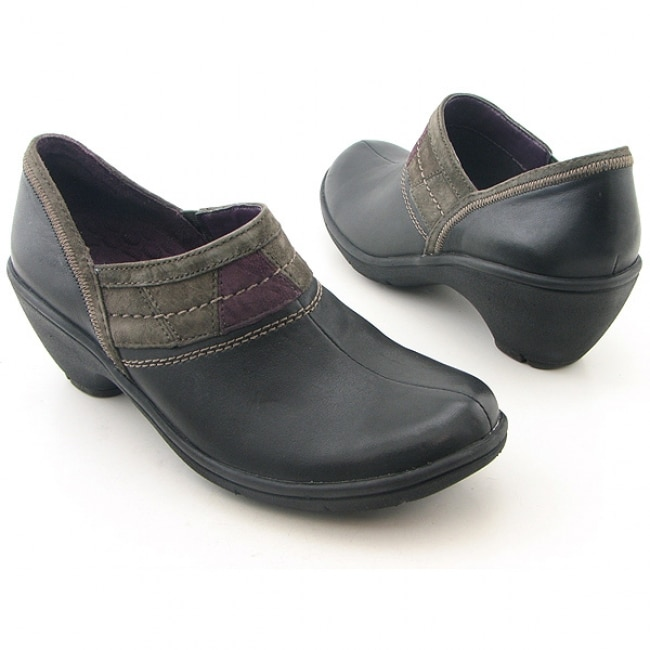 6d90c8439d9 Privo by Clarks Womens Black Cambria Clogs on PopScreen