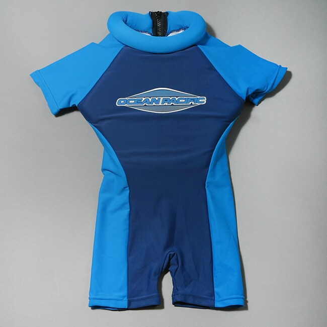 6eec83b2028a Ocean Pacific Kids Royal  Navy Floatsuit on PopScreen
