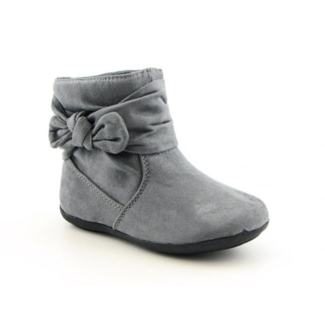 Rampage Toddler Girls Tiffany Gray Boots Size 12