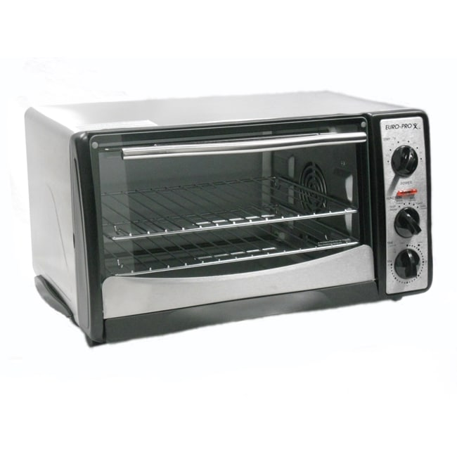 Euro Pro Convection Cooking Toaster Oven Refurbished