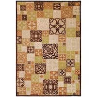 Woven Tyler Natural Viscose/Chenille Area Rug - 4' x 5'7