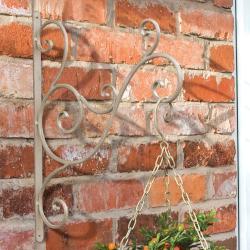 Laura Ashley Oyster Decorative Bracket Garden Accent