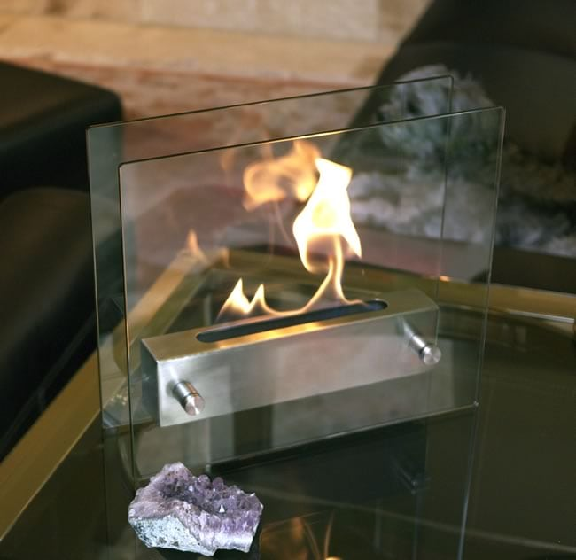 Nu Flame Irradia Tabletop Fireplace 14071828 Overstock