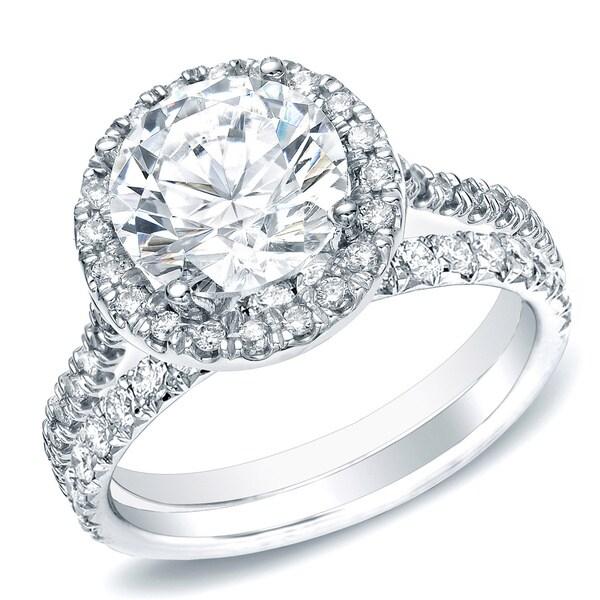 Auriya 14k gold 1ct tdw round diamond bridal set h i si1 si2 618074a1 af2f 451f 834c 5ad3378153b4 600