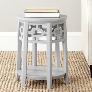 Safavieh Adela Pearl Blue Grey Side Table Overstock