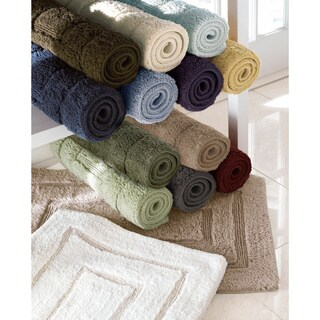 Luxurious 24 x 40-inch Cotton Bath Mat