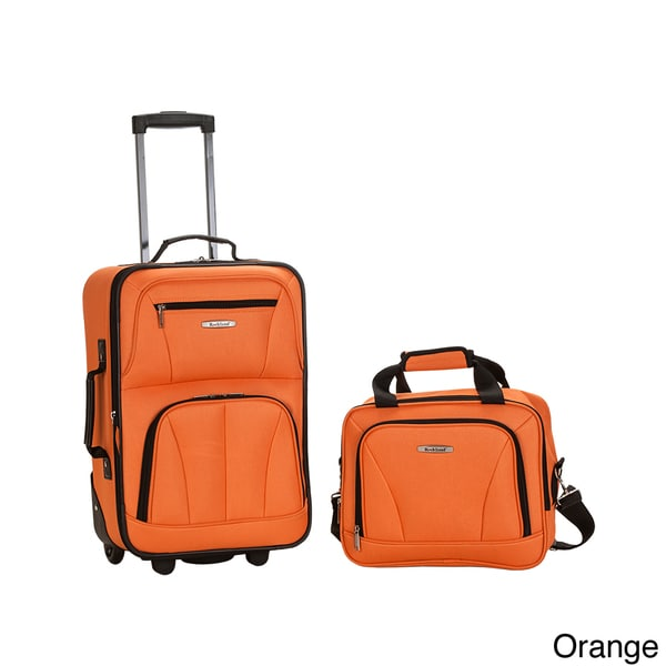 Rockland New Generation 2 Piece Lightweight Carry On