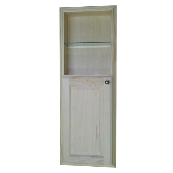 Recessed Shelf In Bathroom Wall: 42-inch Recessed In The Wall Baldwin Medicine Cabinet With