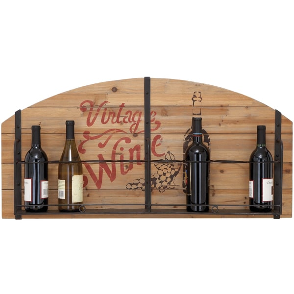 Vintage Wine Enthusiast Wood 8 Bottle Wine Rack 15246422