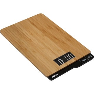 Taylor Bamboo Digital Kitchen Food Scale