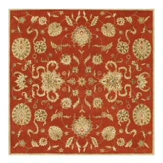 Alliyah Rugs Green Wool Rug 10 X 14 15006652