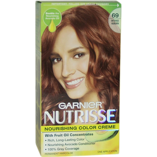 Garnier Nutrisse Nourishing Color Creme Intense 69 Auburn