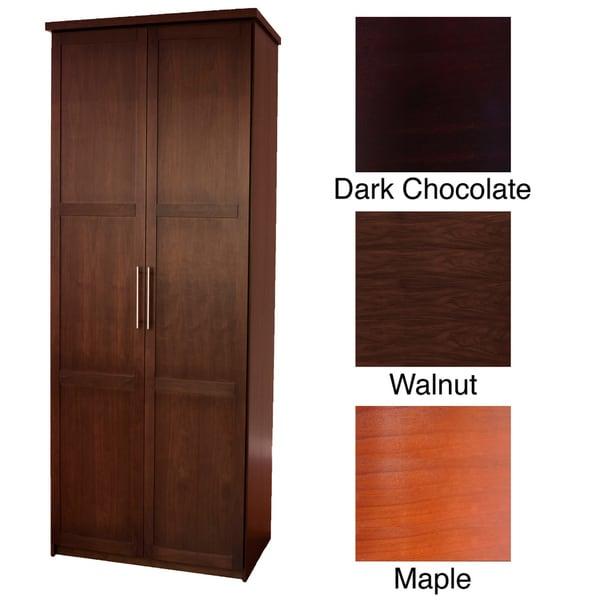 Eifel 32 Inch Wide Double Door Wardrobe 15262646