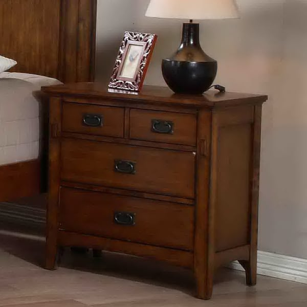 tremont 4 drawer nightstand 15262847 overstock shopping great deals on nightstands. Black Bedroom Furniture Sets. Home Design Ideas