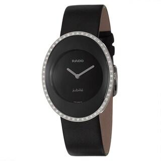 49d45d9f984 review detail Rado Women s  Esenza  Water-resistant Diamond Accented Swiss  Quartz Watch
