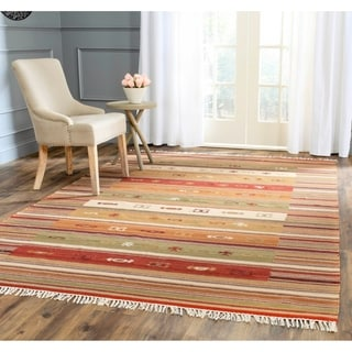 Flat Woven Tribal Wool Jute Rug 9 X 12 10084973