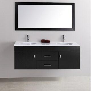 Alyssa 56-inch Double-sink Vanity Set - Overstock ...