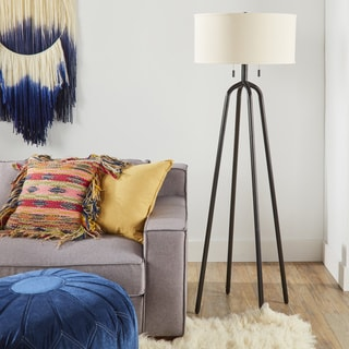 Rawson Oil Rubbed Bronze Adjustable Height Floor Lamp