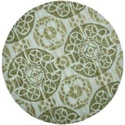 Safavieh Handmade Wyndham Turquoise Wool Rug 2 3 X 7