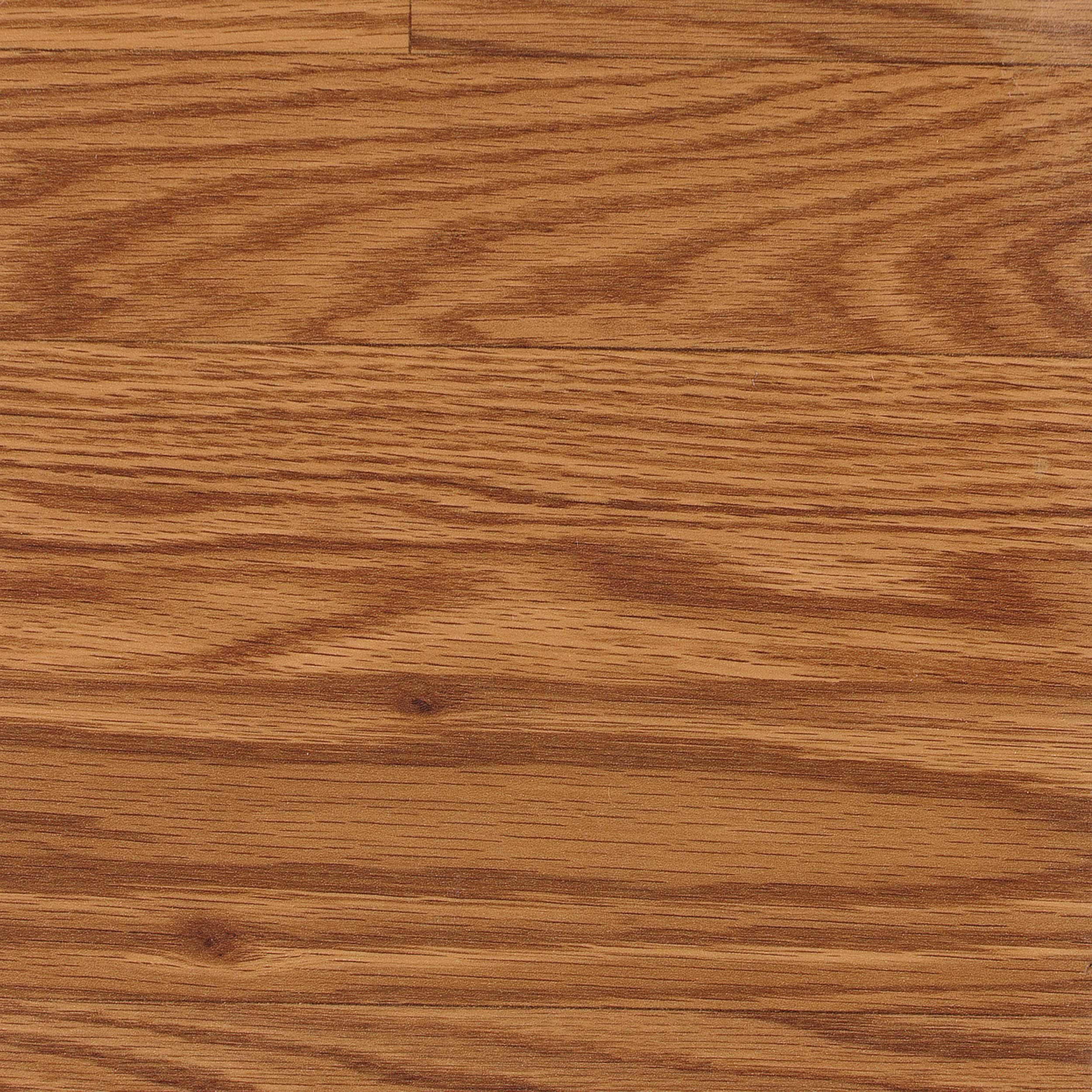 Easy Install 8mm 3-Strip Gunstock Oak Laminate Flooring