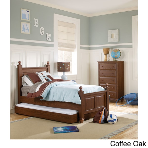 Twin Size Four Poster Bed Frame 15280542 Overstock Com