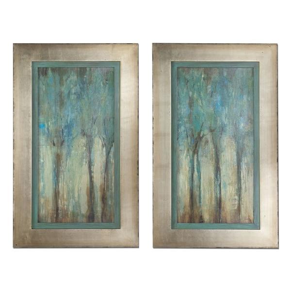 Uttermost Whispering Wind Framed Art Set Of 2 15282619