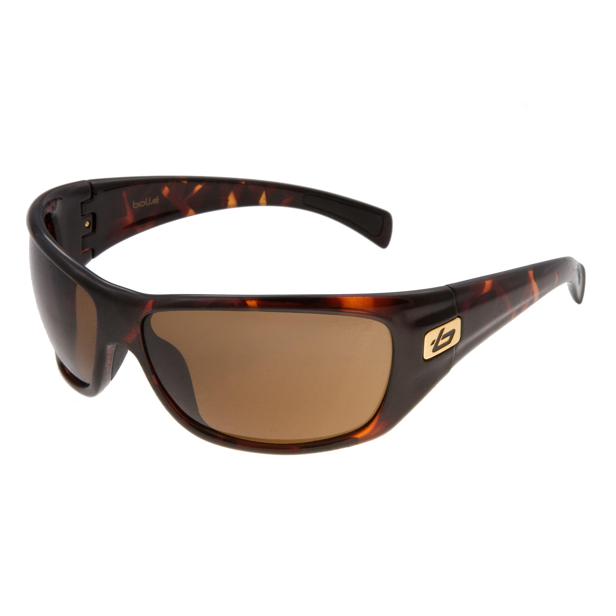 8c4328d9ac Bolle Mens Cobra Dark Tortoise Sunglasses (Dark tortoiseStyle SportModel  11223Frame PlasticLens Scratch  impact resistant
