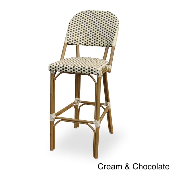 Paris Indoor Outdoor Bamboo Finished Bar Chair