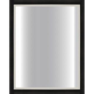 Black Framed Mirror 24 X 30 15291538 Overstock Com