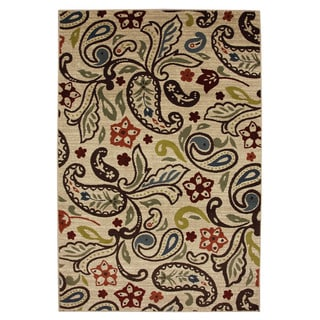 Retro Paisley Rug 8 X 10 Overstock Shopping Great