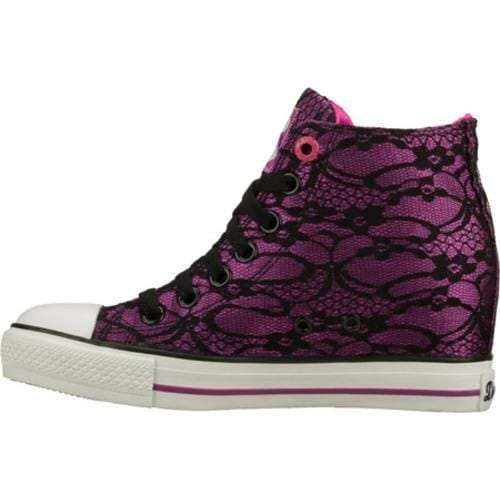 finest selection 9a645 35f9a Women's Daddy's Money Gimme Skulls Purple/Black Daddy's ...
