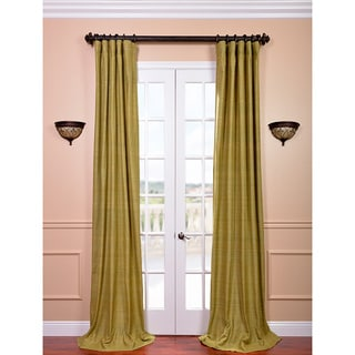 Raw Silk Spanish Moss Curtain Panel - Overstock Shopping ...