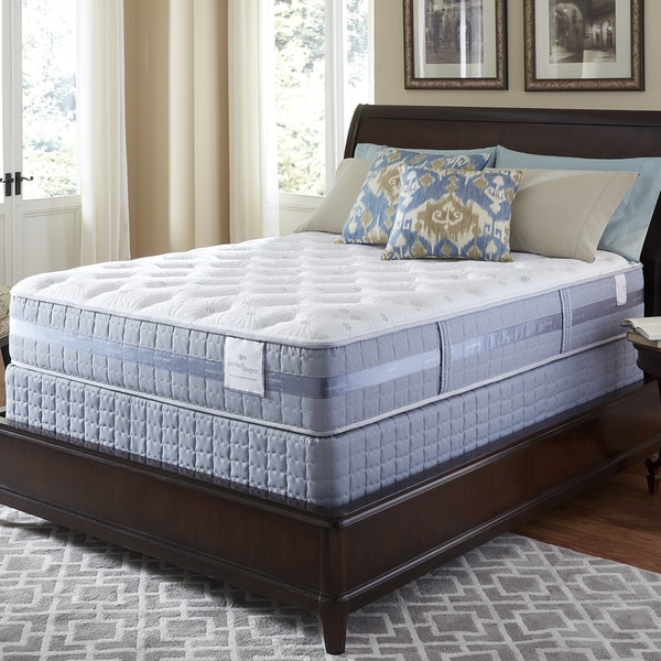 Serta Perfect Sleeper Majestic Retreat Plush Split Queen