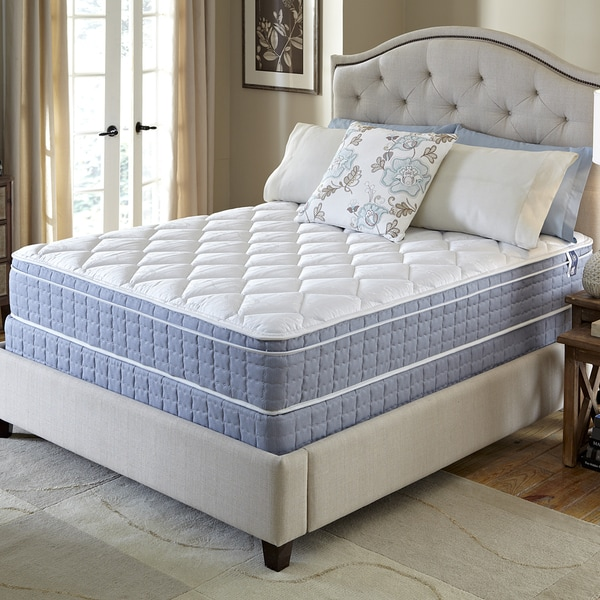 Serta Revival Euro Top Full Size Mattress And Foundation Set