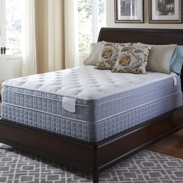 Serta Perfect Sleeper Luminous Euro Top Queen Mattress And