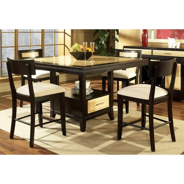 Somerton Dwelling Insignia 5 Piece Counter Height Dining